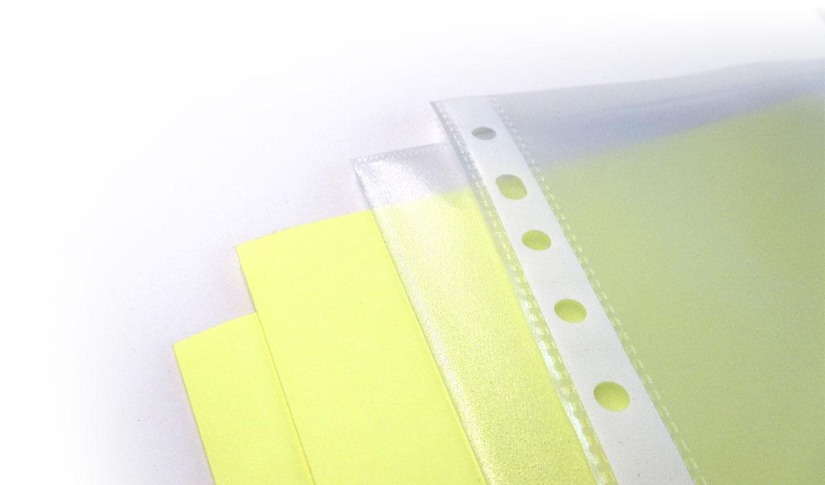 Fundas de plástico A4, subcarpetas y bolsas para planos